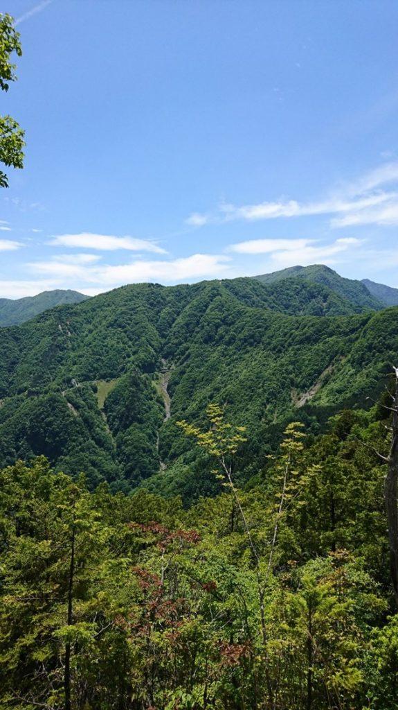 三峯神社 奥宮からの風景