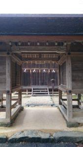 上宮(仮宮)入口
