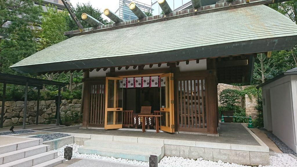 六本木 天祖神社 御社殿