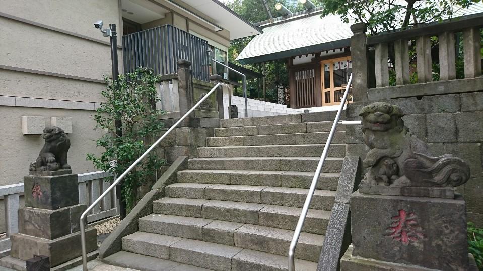 六本木 天祖神社 狛犬様