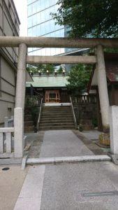 六本木 天祖神社 鳥居