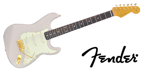 サウンドハウス「FENDER ( フェンダー ) / MIJ Traditional 60s Stratocaster Gold Hardware Rose USBlonde」
