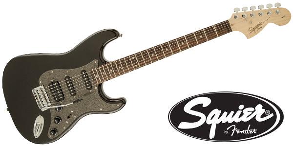 サウンドハウス「SQUIER ( スクワイヤ ) / Affinity Stratocaster HSS Montego Black Metallic」