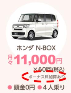 車のサブスクリプション(定額制)「定額ニコノリパック」のホンダ「N-BOX」