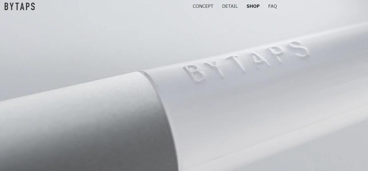 歯ブラシの定期便「BYTAPS」