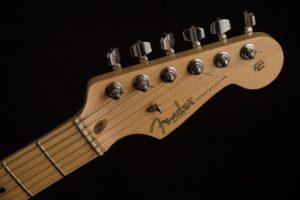 エレキギター「フェンダー・ストラトキャスター」のヘッド